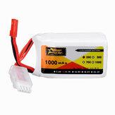ZOP Power 11.1V 1000mAh 20C Batterie Lipo JST Prise de courant