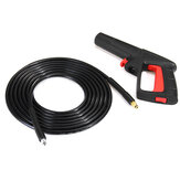 5M Click-Click High Pressure Washer Spray Guns+Tube Color Random For Karcher