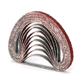 50pcs 10x330mm Zirconia Sanding Cinto Ferramentas abrasivas de óxido de alumínio de grão 40/60/80/120