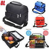 Outdoor Portable Waterproof Insulated Food Warmer Lunch Box Storage Bag