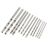 25pcs HSS Micro Twist Drill Bits Set 0.5mm-3.0mm Straight Shank PCB Twist Drill Bits