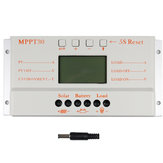 MPPT30 30A 12V / 24V Auto Switch LCD Display Solar Charge Controller Regulator