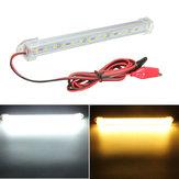 12v 20 Cm 15 LED smd 5630 LED Streifenlicht harte Tubenbar kühlen weißes warmes Gelb ab