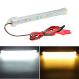 12v 20cm 15 LED smd 5630 LED luz de tira barra de tubo duro blanco frío amarillo cálido
