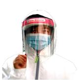Masque de protection transparent pour écran facial Masque en plastique anti-buée pour écran facial