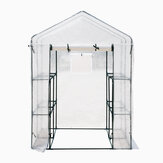 Greenhouse Walk In PVC With Shelf Cover Outdoor Tent House Plants 186x120x190CM