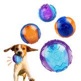 Köpek Chew Oyuncak Top Interaktif Köpek Eğitim Şişme Eziyet Diş Top Ev Için Outdoor Oyunları Xiaomi Youpin
