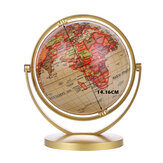 World Globe Map 360°Rotating World Globe Earth Map Geography Education Toy Home Decoration Office Ornament Kids Gift