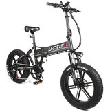 LAOTIE FT5 20in Fat Tire 48V 10Ah 500W Folding Electric Moped Bike 35km/h Top Speed 80-90km Mileage E-Bike
