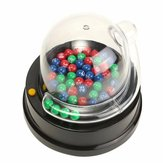 Elektrische Lucky Number Picking Machine Mini Lottery Bingo Games Shake Lucky Ball