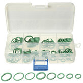 105 Pcs 8 tamanho HNBR Green Car Air Condition O Rings Seal Seal Ring Gaskets Repair Tool Kit Caixa