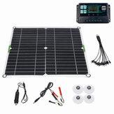 200 Вт Солнечная Панель Набор 12 В Батарея Зарядное устройство 10-50A Контроллер для корабельных мотоциклов Лодка