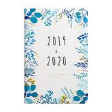 2019-2020 Agenda mensile settimanale Agenda settimanale Piano portatile portatile Carino Diary Flower Schedule Office Stationery