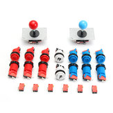 Joystick Push Button Start Button Micro Switch DIY Kit For Arcade Game