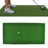 60x30cm Groene Golf Practice Mat Indoor Training Backyard Hitting Grass Driving Holder