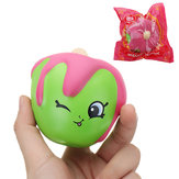 Meistoyland Squishy Fruit Cartoon Slow Rising Toy с упаковкой Cute Кукла Кулон