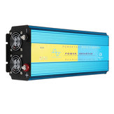 DC 12V/24V to AC 110V/220V 4000W Pure Sine Wave Power Inverter LCD Display