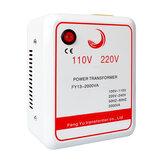 1PCS AC 110V až 220V invertor nabíječka napětí transformátor napětí převodník 2000W adaptér čistý měděná cívka