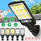LED Solar Wall Light 3 Modes Motion Sensor Light Control IP65 Waterproof Yard Garden Park Lamp