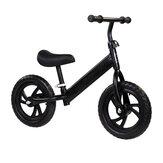 ペダルなしキッズバランスバイク幼児スクーターバイクウォーキングバランストレーニング簡単なステップ取り外し可能な2-6歳の子供