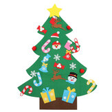 Felt Christmas Tree Set Ornaments Gift Door Wall Hanging Decoration