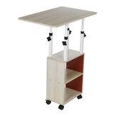 Прикроватный столик передвижной простой маленький столик для спальни домашний простой студенческий подъемный стол для общежития для дом