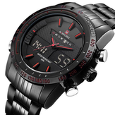 NAVIFORCE NF9024 Militaire Dual Display Week Date Mannen Horloge