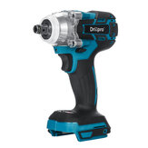 Drillpro 18V Cordless Brushless Impact Wrench Screwdriver Stepless Speed Change Switch Adapted To 18V Makita battery