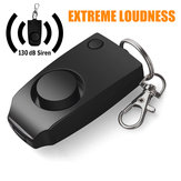 Nouveau système d'alarme de dispositif anti-viol Extreme Fort Alerte Porte-clés Sécurité Sécurité personnelle avec des widgets pour femmes Enfants