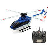 XK K124 6CH فرش EC145 3D6G نظام RC طائرات الهليكوبتر RTF