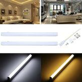 30cm 5W 440LM SMD2835 T5 LED Luz del Tubo Fluorescente con interruptor Caliente/Blanco Puro AC85-265V