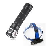SKILHUNTH03RCL2U41200LM NW / CW Magnetische Lade LED Taschenlampe Outdoor Scheinwerfer Scheinwerfer