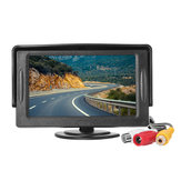 4.3 inch TFT LCD HD Digital Monitor Color Screen For Car Rear View Reversing Camera