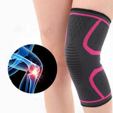 Women Mens High Élasticité Antidérapant Knee Protector Pad Gym Sports Guard Genouillère