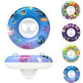 1 PC Anel de Natação Do Bebê Piscina Assento Criança Anel de Bóia Instrutor Float Água Para Crianças Projetos Dos Desenhos Animados