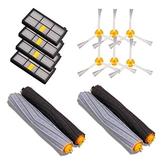 4 piezas de filtro 6 piezas de lado Cepillo 4 piezas principales de Cepillo piezas de aspiradoras Accesorios de 14 piezas para iRobot Roomba 880 860 870 871 de aspiradoras