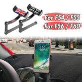 Držák telefonu s volantem pro automatické otáčení o 360 ° pro BMW Mini Cooper F54 F55 F56 F60 pro zařízení 3,5-5,5 palce