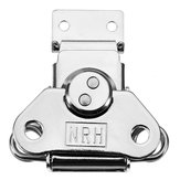 6331A Cold Rolled Silver Twist Draw Toggle Latch Rotary Turn with Catch Plate