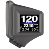 OBD GPS Dual-systeem HUD-display Head-up display voor auto Digitale autosnelheidsprojector GPS Snelheidsmeter Kilometerteller Overspeed-alarm