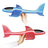 35 cm Lancio a mano di grandi dimensioni Lancio di aeromobili Aereo fai-da-te Schiuma inerziale EPP Giocattolo aereo per bambini