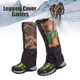 1 Pair Camouflage Waterproof Outdoor Escalada Caminhadas Snow Gaiters Leg Cover Boot Legging Wrap