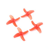 2 pares Eachine TRASHCAN 75mm FPV Racing Drone Pieza de repuesto 40mm 4 palas CW CCW Propeller