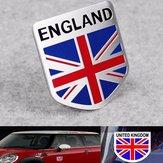 Aluminum England UK Flaggen Schild Emblem Abzeichen Auto Aufkleber Abziehbild Dekor Universelle für LKW Auto