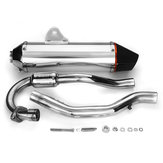 Motorcycle Aluminum Exhaust Muffler Slip-On System Pipe For Honda CRF 150F 230F 03-16