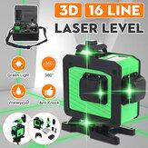 16 Hattı 360 Yatay Dikey Çapraz 3D Yeşil Işık Lazer Seviye Öz-Tesviye Tedbir Süper Güçlü Lazer Işın