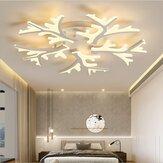 LEDシーリングライトペンダントランプ廊下寝室調光可能なリモートフィクスチャの装飾