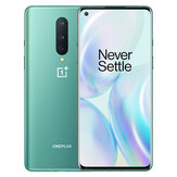 OnePlus 8 5G Global Rom 6.55 inch FHD+ 90Hz Refresh Rate NFC Android 10 4300mAh 48MP Triple Rear Camera 8GB 128GB Snapdragon 865 Smartphone