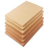100 Adet A4 Kraft Kağıt Kalın Karton Kopya Kağıdı Handmake Ev Ofis Kırtasiye Malzemeleri