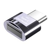 Biaze Type-C Считыватель карт TF Считыватель карт USB C OTG Адаптер карты памяти Считыватель смарт-карт для Android телефонов Порт Type-C