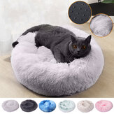 80cm Plush Fluffy Soft Pet Bed for Cats & Dogs Calming Bed Pad Soft Mat Home
